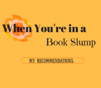 Book Slump Recommendations