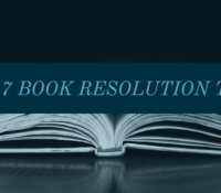 2017 Reading Resolutions