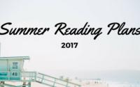 2017 Summer Reading Plans