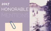 2017 Favorites: Honorable Mentions!